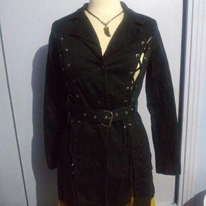 Royal Bones trench coat